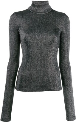 NO KA 'OI Turtle-Neck Fitted Top