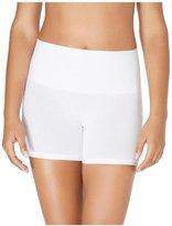 Yummie by Heather Thomson Tina Cotton Smoothing Shorts - White-S/M