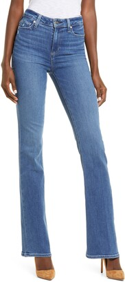 Paige Transcend Laurel Canyon High Waist Flare Jeans