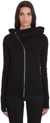 Drkshdw Mountain Hoodie Sweatshirt In Black Cotton