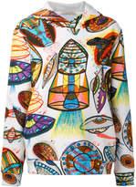 Christopher Kane UFO print hoodie