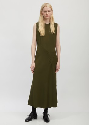Haider Ackermann Bias-Cut Sleeveless Dress