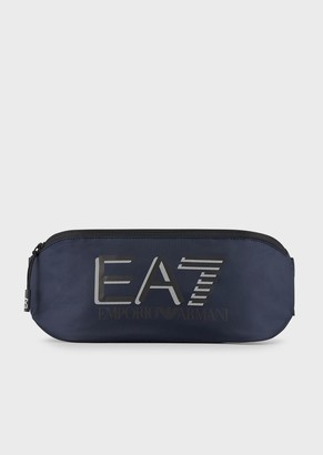 Ea7 Sporty Visibility Belt Bag With Logo