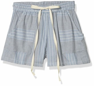 Angie Women's Woven Stripe Shorts