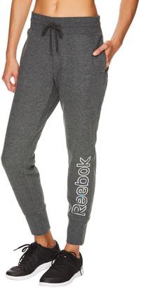 Reebok Women's Sweatpants CHARCOAL - 30'' Charcoal Heather Refresh Signature Joggers - Women