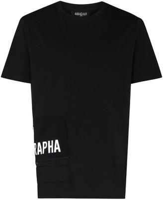 Robyn Lynch x Rapha zip pocket detail logo T-shirt