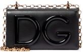 Thumbnail for your product : Dolce & Gabbana Logo Small leather crossbody bag