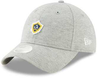 New Era Women's Gray LA Galaxy Preppy Team 9TWENTY Adjustable Hat