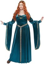 California Costumes Lady Guinevere Plus Size Costume (Teal) 2XL