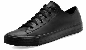 Shoes for Crews 38649-39/6 DELRAY Unisex Casual Leather Shoe Slip Resistant Size 6 UK