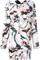 Marni marble print dress