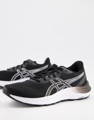 Asics Running Gel-Excite 8 trainers in black