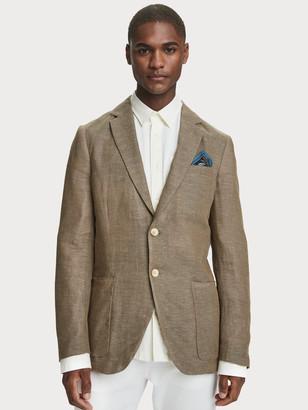 Scotch & Soda Cotton-Linen Blazer | Men