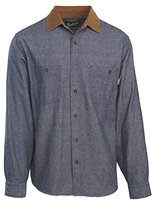 Woolrich Men's Northridge Chambray Flannel Shirt