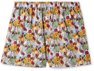 Sunspel Paisley-Print Cotton Boxer Shorts