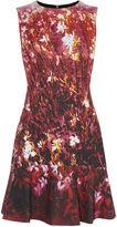 Karen Millen Floral Scuba Dress - Pink/multi