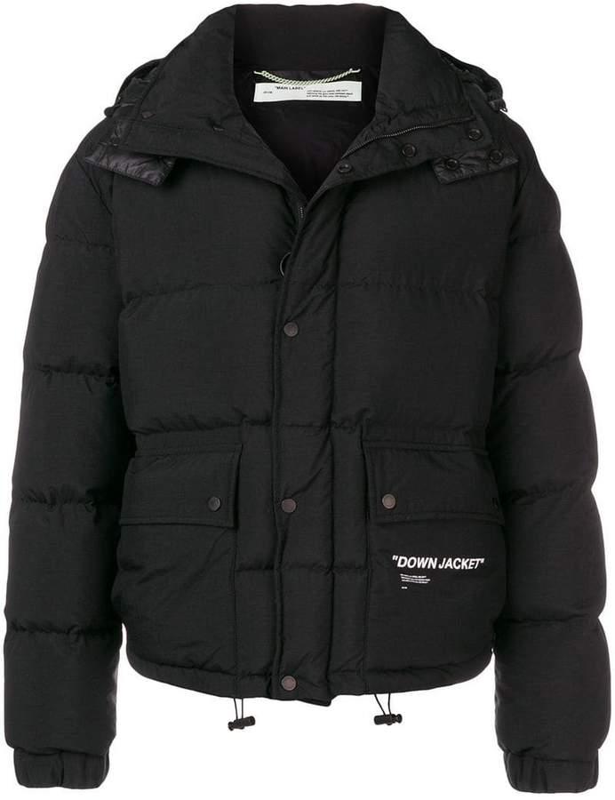 Off-White short padded jacket