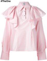 Kenzo ruffled blouse
