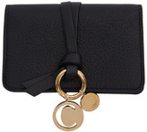 Chloé Black Alphabet Card Holder