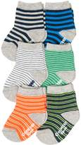 Osh Kosh Oshkosh Bgosh Baby / Toddler Boy 6-pack Stripe Crew Socks