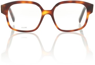 Celine Maillon Triomphe square glasses