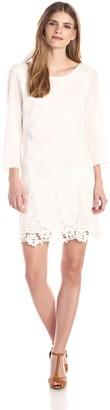 LAmade Women's Stella Embroidered Criss Cross Dress