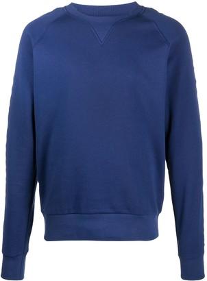 Balmain Debossed Logo Sweatshirt