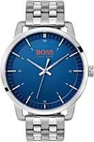 Hugo Boss Orange Stockholm Blue Dial Stainless Steel Bracelet Mens Watch