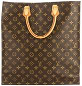 Louis Vuitton Monogram Canvas Sac Plat Bag