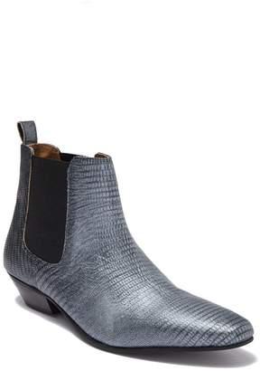 Topman Hendrix Leather Chelsea Boot