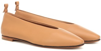 Bottega Veneta Almond leather ballet flats