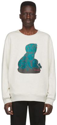 Rochambeau Grey Puppies Sweatshirt