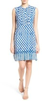 Nic+Zoe Women's Falling Dots Shift Dress