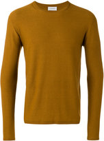 Lemaire ribbed trim sweatshirt - men - Cotton/Cashmere - S