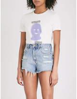 Ksubi Police cotton-jersey T-shirt