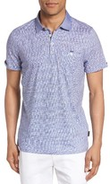 Ted Baker Men's Fornia Extra Trim Fit Print Polo