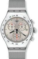 Swatch Men's Irony YVS405G Stainless-Steel Swiss Quartz Fashion Watch