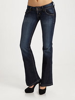 Hudson Petite Signature Bootcut Jeans