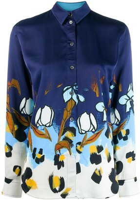 Paul Smith Painted Floral shirt