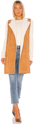 BCBGeneration Sherpa Knit Long Vest