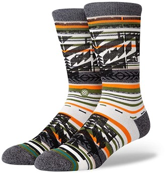 Stance Rey Crew (Green) Men's Crew Cut Socks Shoes