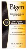 Bigen Hair Color 58 Black Brown