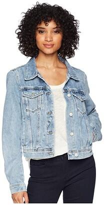 Free People Rumors Denim Jacket (Indigo Blue) Women's Coat