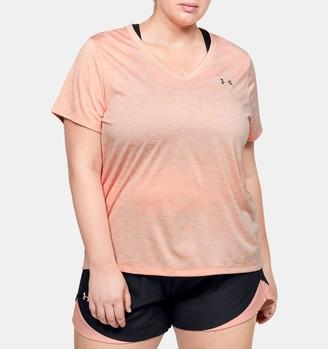 Under Armour Women's UA Tech Twist V-Neck Short Sleeve