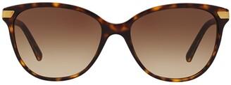 Burberry Eyewear Cat Eye Frame Sunglasses
