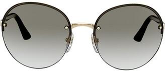 Prada Heritage round-frame sunglasses
