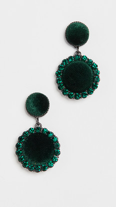 Stella + Ruby Velvet Drop Earrings