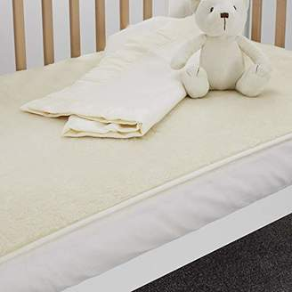 The Wool Room Fitted Lambswool Fleece Enhancer Cot Size