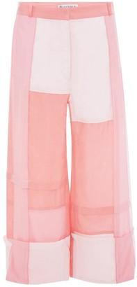 J.W.Anderson Bubblegum Patchwork Panelled Trousers