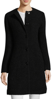 Love Moschino Plush Wool Coat